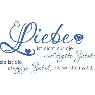 Graz Design Wandtattoo Liebe ist nicht nur Zutat