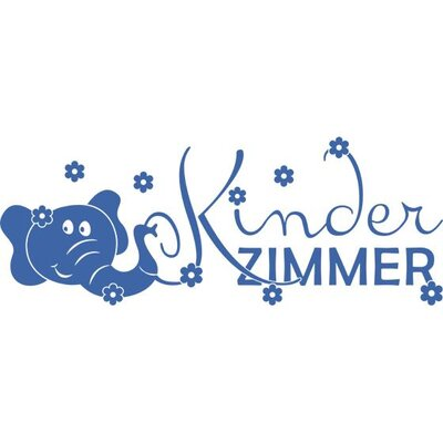 Graz Design Wandtattoo Kinderzimmer, Elefant