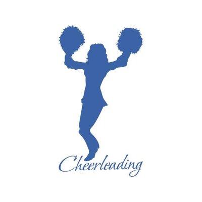 Graz Design Wandtattoo Cheerleading Frau