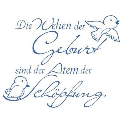 Graz Design Wandtattoo Die Wehen der Geburt, Vögel