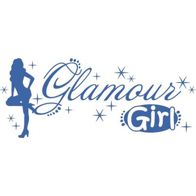 Graz Design Wandtattoo Glamour Girl
