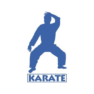 Graz Design Wandtattoo Karate Mann