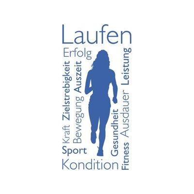 Graz Design Wandtattoo Laufen Frau
