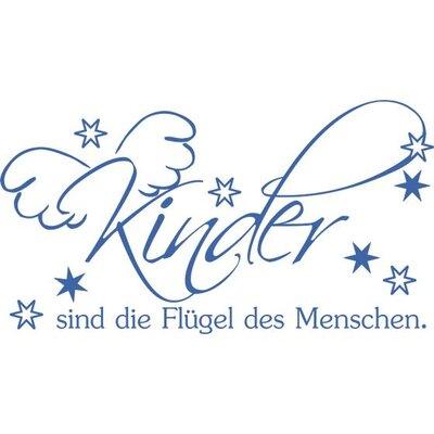 Graz Design Wandtattoo Kinder sind die Flügel
