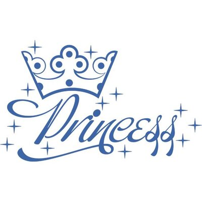 Graz Design Wandtattoo Princess