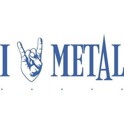 Graz Design Garderobenhaken I love Metal, mit Rockhand