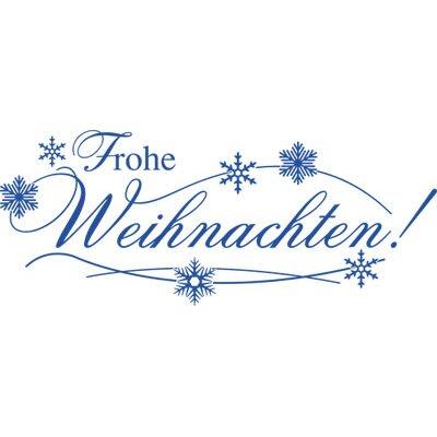 Graz Design Wandtattoo Frohe Weihnachten, Schnee