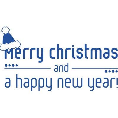 Graz Design Wandtattoo Christmas and New Year