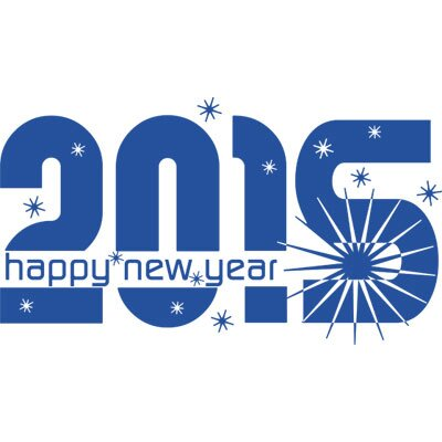 Graz Design Wandtattoo 2015 Happy New Year