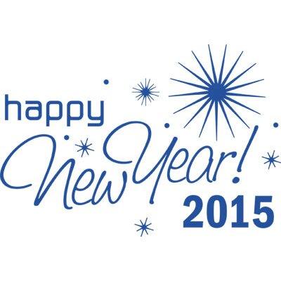 Graz Design Wandtattoo Happy New Year 2015