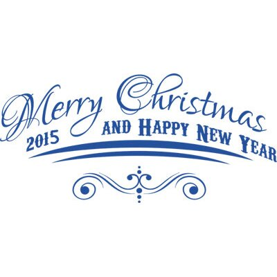 Graz Design Wandtattoo Merry Christmas, Happy Year