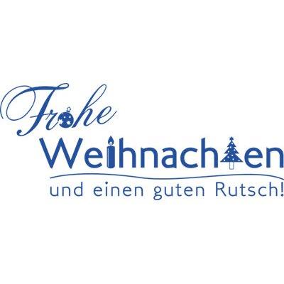 Graz Design Wandtattoo Frohes Fest, Guten Rutsch