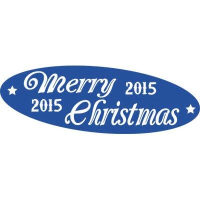 Graz Design Wandtattoo Merry Christmas, 2015