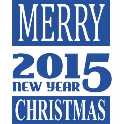Graz Design Wandtattoo Merry Christmas, New Year