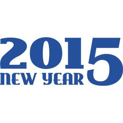 Graz Design Wandtattoo 2015, New Year, Silvester