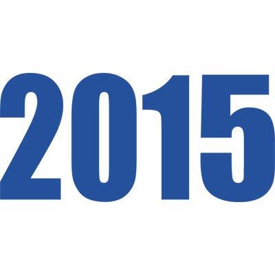 Graz Design Wandtattoo 2015, Jahr, Zahlen