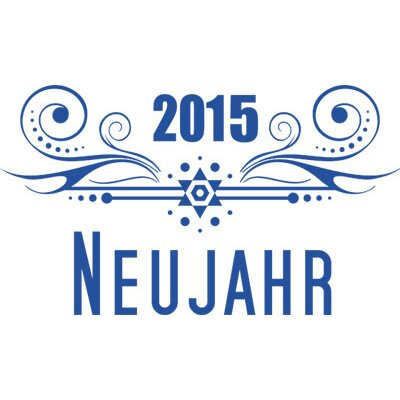 Graz Design Wandtattoo 2015, Neujahr, Ornament