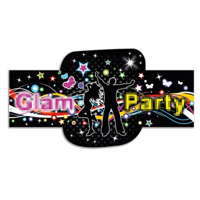 Graz Design Wandsticker Glam Party