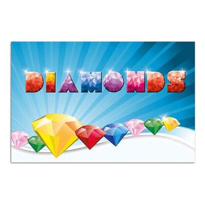 Graz Design Wandsticker Diamonds