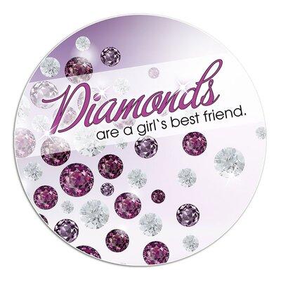 Graz Design Wandsticker Diamonds are a girl´s best friend