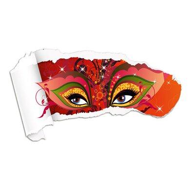 Graz Design Wandsticker Augen, Kreise, Ornamente