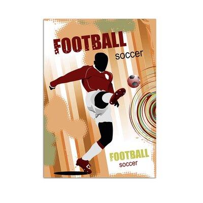 Graz Design Wandsticker Football, Soccer