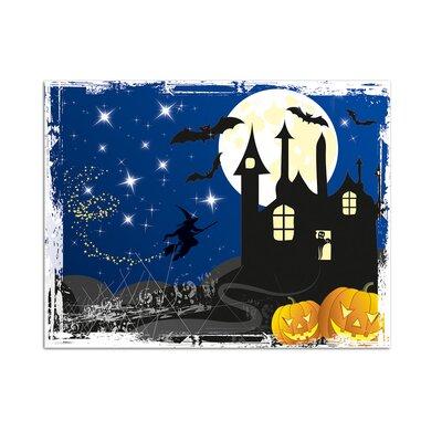 Graz Design Wandsticker Halloween, Hexe,Fledermäuse