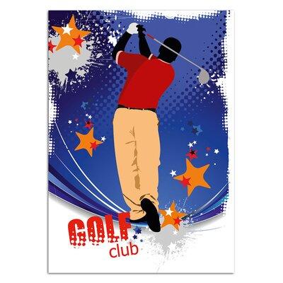 Graz Design Wandsticker Golf club, Sterne