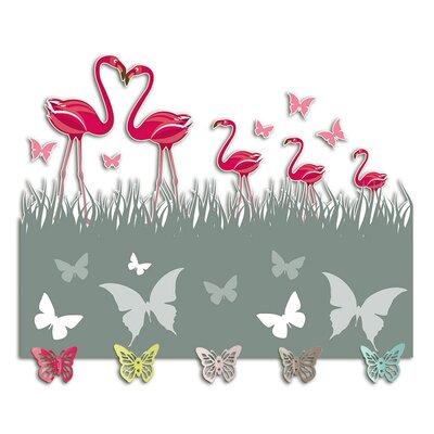 Graz Design Garderobenhaken Schmetterlinge, Gras