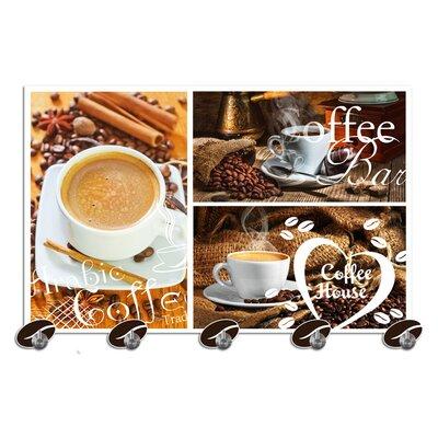 Graz Design Garderobenhaken Kaffee, Bohnen
