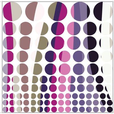 Graz Design Wandsticker-Set Streifen Polka Dots