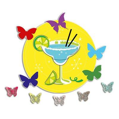 Graz Design Garderobenhaken Cocktail, Limetten, Schmetterling