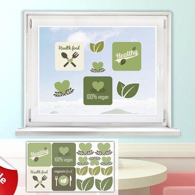 Graz Design Glastattoo-Set Healthy, 100 % Vegan
