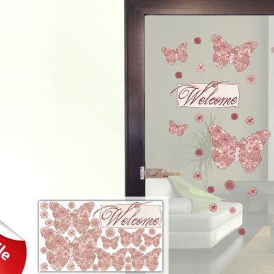 Graz Design Glastattoo-Set Welcome