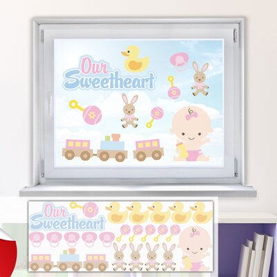 Graz Design Glastattoo-Set Our Sweetheart, Baby