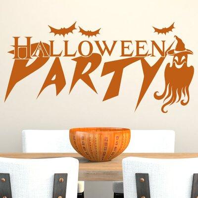 Graz Design Wandtattoo Halloween Party, Geist