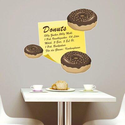 Graz Design Wandsticker Donuts, Zutaten, Gebäck