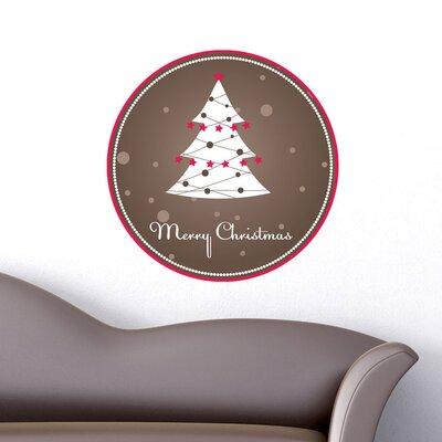 Graz Design Wandsticker Merry Christmas, Tanne