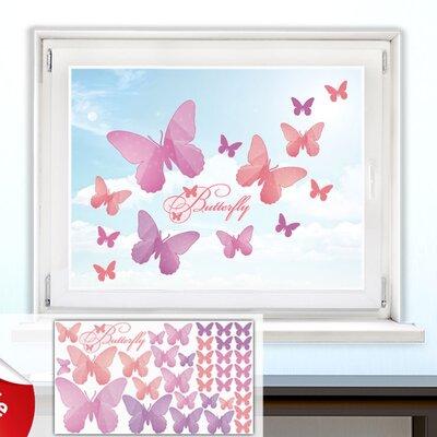 Graz Design Glastattoo-Set Butterfly