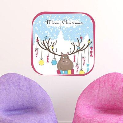 Graz Design Wandsticker Merry Christmas, Tannen