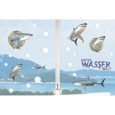 Graz Design Glastattoo Unterwasserwelt