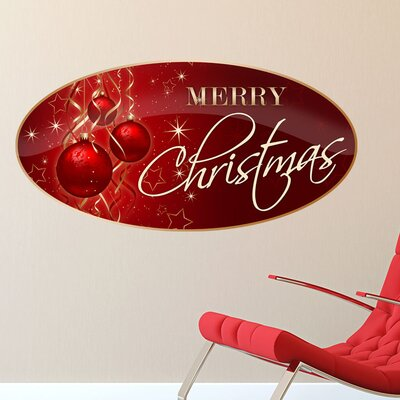 Graz Design Wandsticker Merry Christmas, Sterne