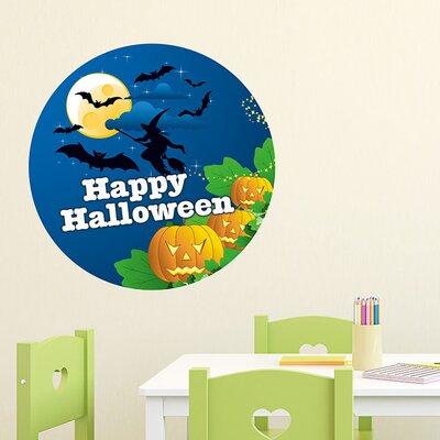 Graz Design Wandsticker Happy Halloween, Hexe