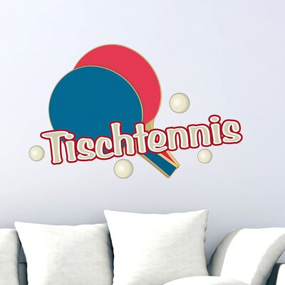 Graz Design Wandsticker Tischtennis, Bälle