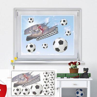 Graz Design Glastattoo-Set Fußball