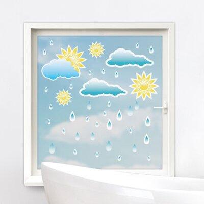Graz Design Glastattoo Sonne Regen