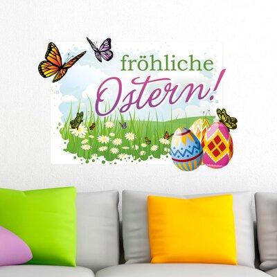 Graz Design Wandsticker fröhliche Ostern!