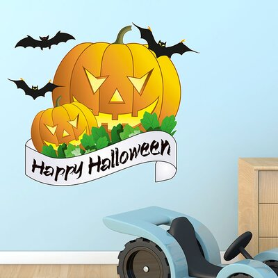 Graz Design Wandsticker Happy Halloween
