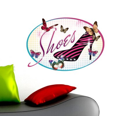 Graz Design Wandsticker Shoes, Schuhe
