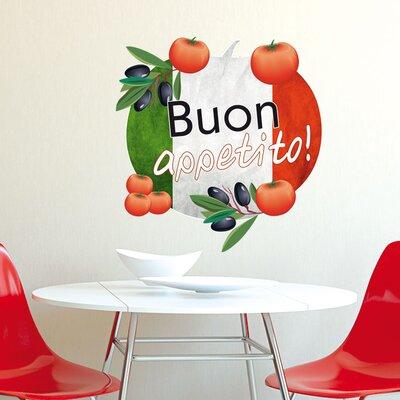 Graz Design Wandsticker Buon appetito!, Italien, Tomaten